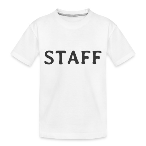 Staff - Toddler Premium Organic T-Shirt