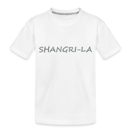 Shangri La silver - Toddler Premium Organic T-Shirt