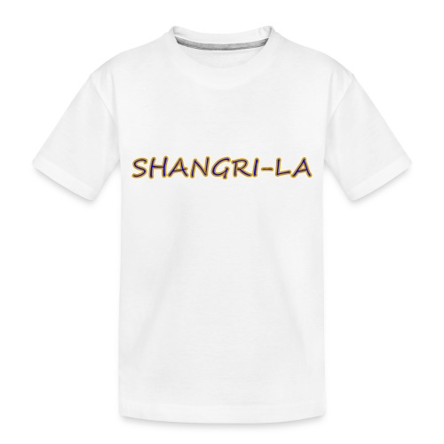 Shangri La gold blue - Toddler Premium Organic T-Shirt