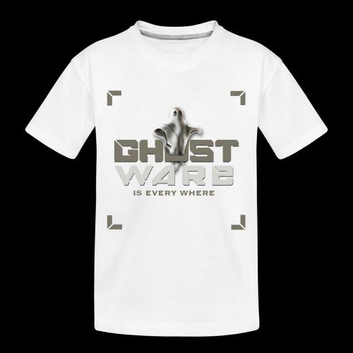 Ghostware Square Logo - Toddler Premium Organic T-Shirt