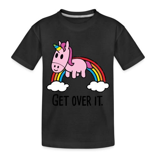 Unicorn Rainbow - Toddler Premium Organic T-Shirt