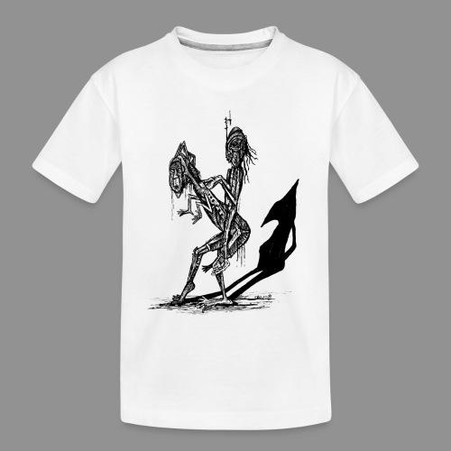 Wolfman Originals Black & White 18 - Toddler Premium Organic T-Shirt