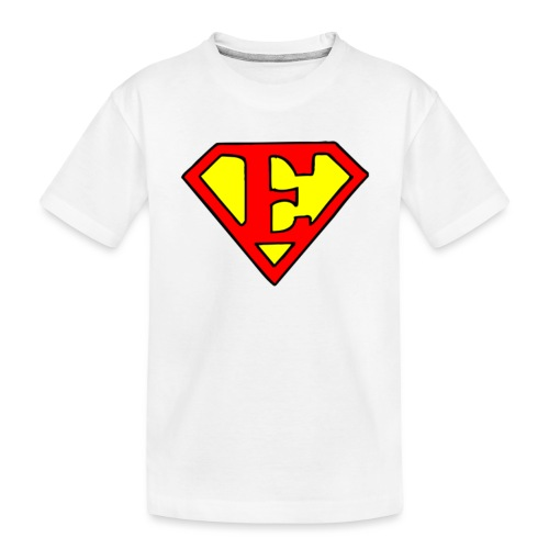 super E - Toddler Premium Organic T-Shirt