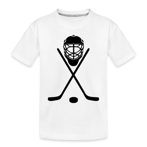 hockey - Toddler Premium Organic T-Shirt