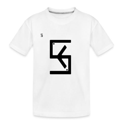 Soft Kore Logo Black - Toddler Premium Organic T-Shirt
