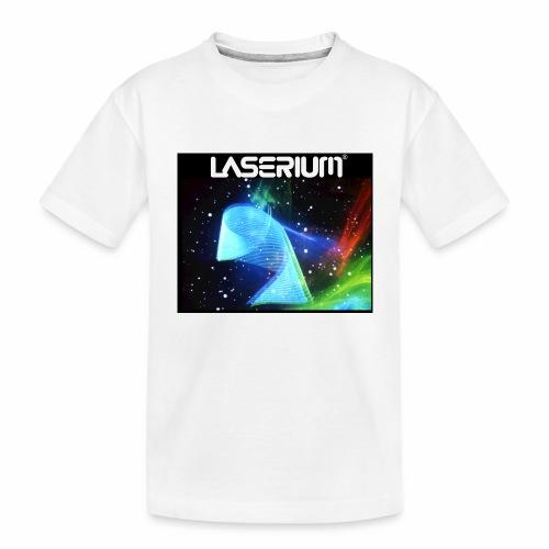 LASERIUM Laser spiral - Toddler Premium Organic T-Shirt