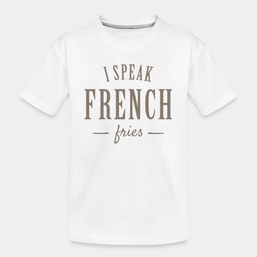 french fries - Toddler Premium Organic T-Shirt