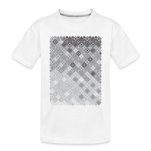 Embroidery pattern - Toddler Premium Organic T-Shirt