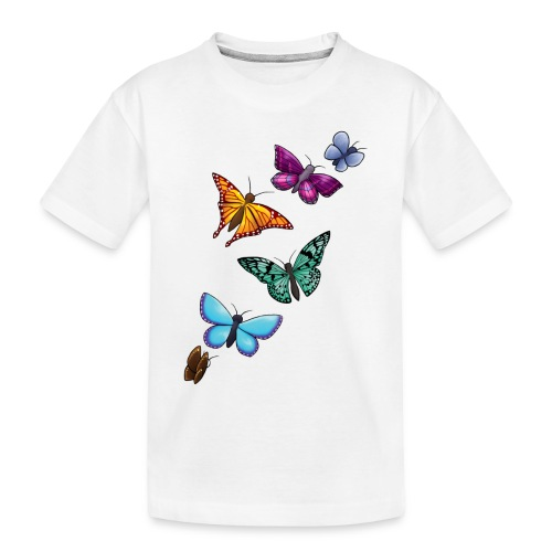 butterfly tattoo designs - Toddler Premium Organic T-Shirt
