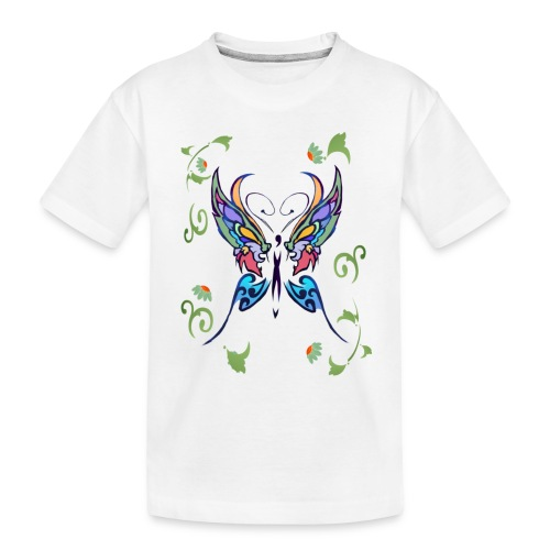 Bright Butterfly - Toddler Premium Organic T-Shirt