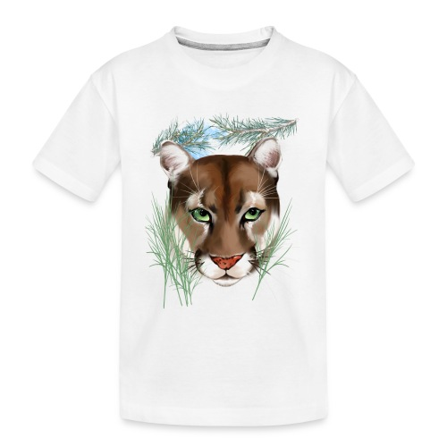 Midnight Puma - Toddler Premium Organic T-Shirt
