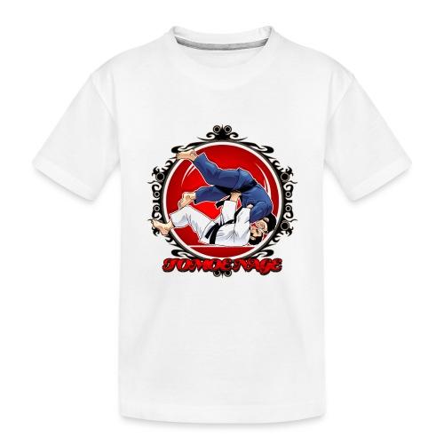 Judo Throw Tomoe Nage - Toddler Premium Organic T-Shirt