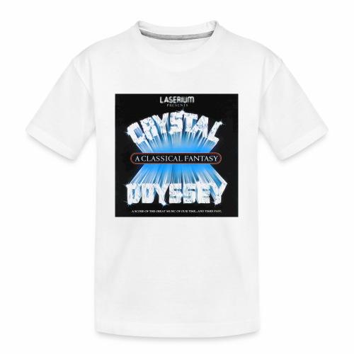 Laserium Crystal Osyssey - Toddler Premium Organic T-Shirt