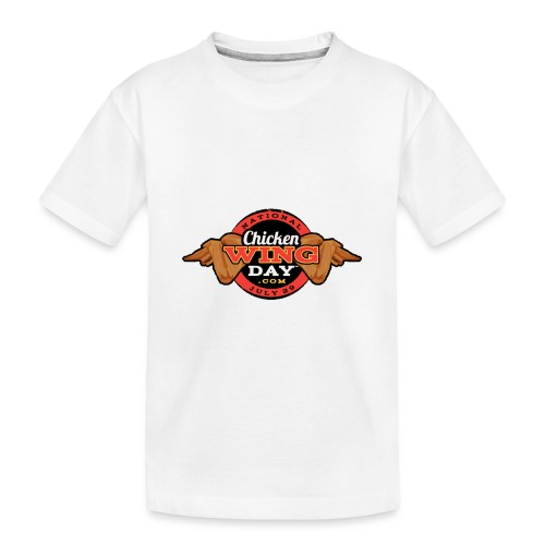 Chicken Wing Day - Toddler Premium Organic T-Shirt