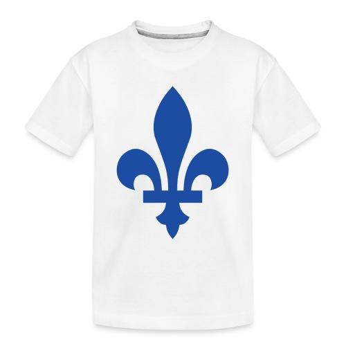 2000px Blue fleur de lis2 png - Toddler Premium Organic T-Shirt