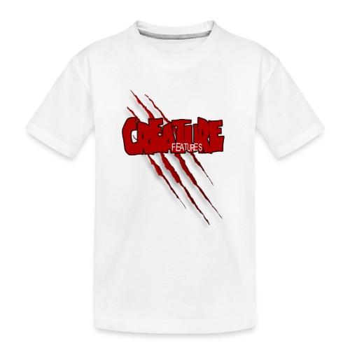 Creature Features Slash T - Toddler Premium Organic T-Shirt