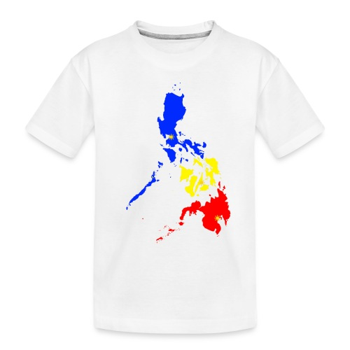 Philippines map art - Toddler Premium Organic T-Shirt
