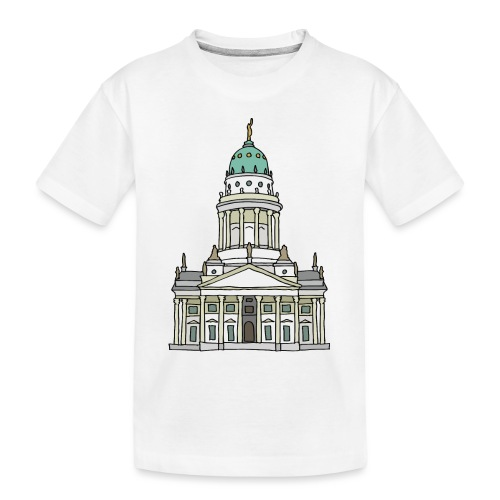 French Cathedral Berlin - Toddler Premium Organic T-Shirt