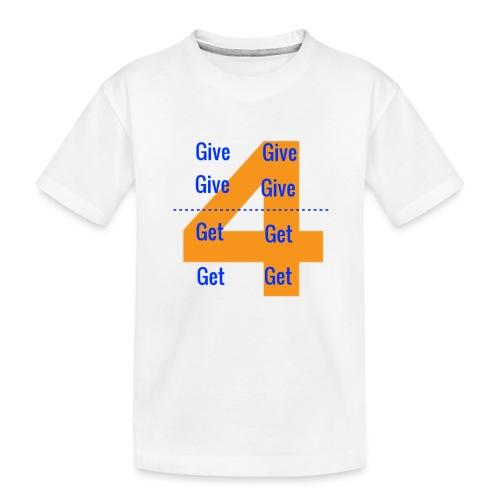 Forgive & Forget - Toddler Premium Organic T-Shirt