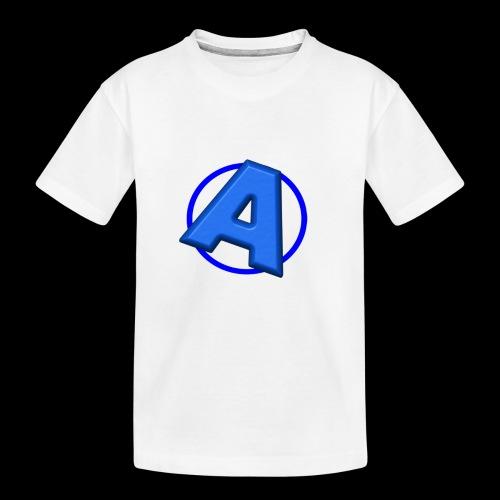 Awesomegamer Logo - Toddler Premium Organic T-Shirt