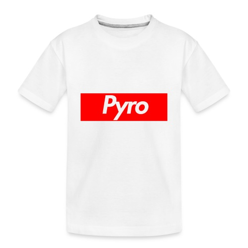 pyrologoformerch - Toddler Premium Organic T-Shirt