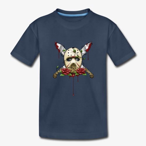Exclusive Jason Vorhees Xay Papa edition Mask - Toddler Premium Organic T-Shirt