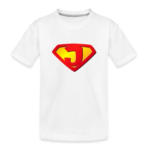 super J - Toddler Premium Organic T-Shirt