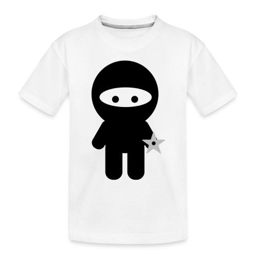 Ninja Boy - Kids Tee - Toddler Premium Organic T-Shirt