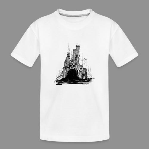 Wolfman Originals Black & White 20 - Toddler Premium Organic T-Shirt