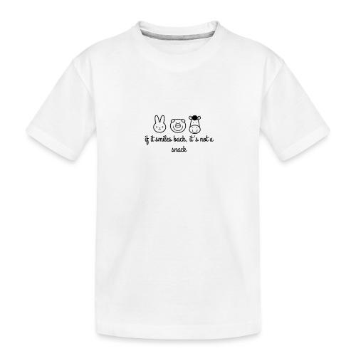 SMILE BACK - Toddler Premium Organic T-Shirt