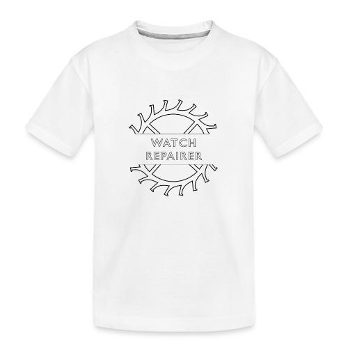 Watch Repairer Emblem - Toddler Premium Organic T-Shirt