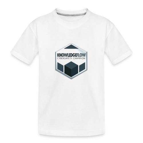 KnowledgeFlow Cybersafety Champion - Toddler Premium Organic T-Shirt