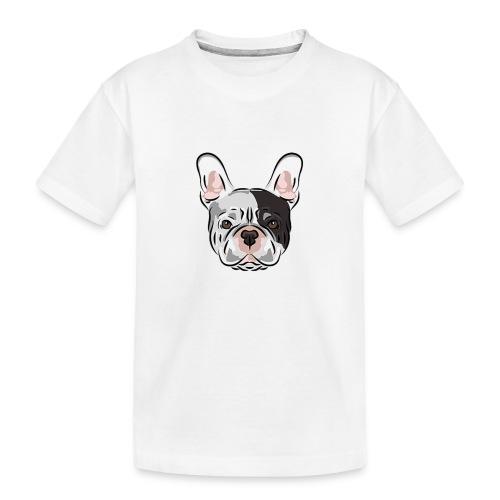 pngtree french bulldog dog cute pet - Toddler Premium Organic T-Shirt