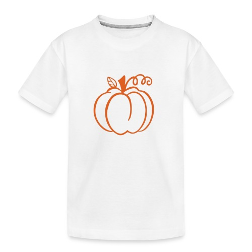 Pumpkin - Toddler Premium Organic T-Shirt
