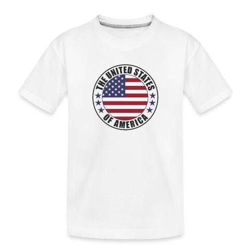 The United States of America - USA - Toddler Premium Organic T-Shirt