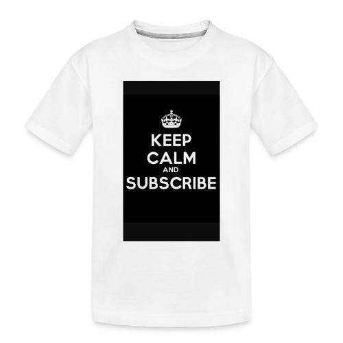 Keep calm merch - Toddler Premium Organic T-Shirt