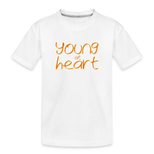 young at heart - Toddler Premium Organic T-Shirt