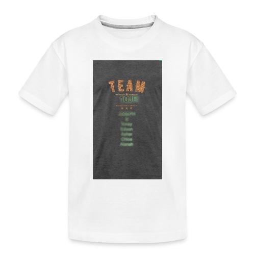 Team 10JR official - Toddler Premium Organic T-Shirt