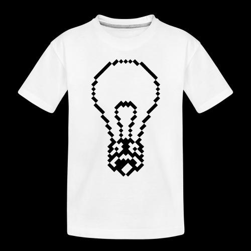 lightbulb - Toddler Premium Organic T-Shirt