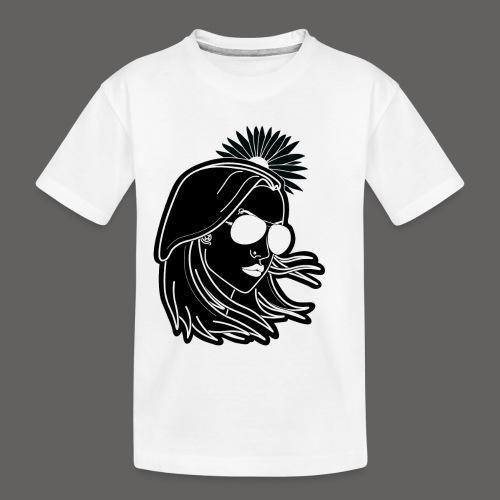 SurferGirl - Toddler Premium Organic T-Shirt