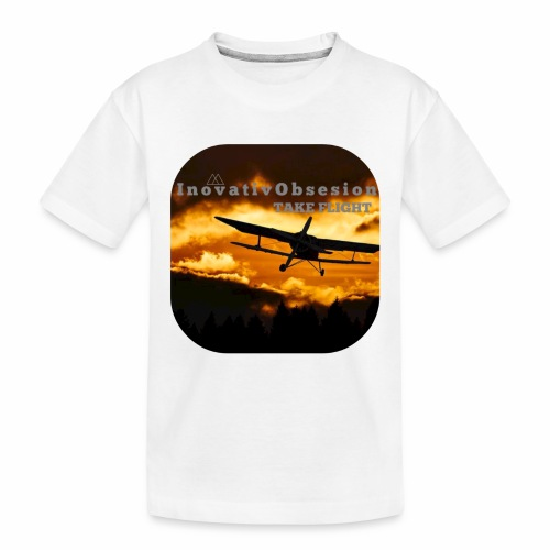 "InovativObsesion ""TAKE FLIGHT"" apparel - Toddler Premium Organic T-Shirt"