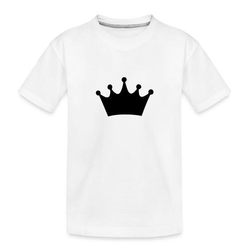CROWN - Toddler Premium Organic T-Shirt