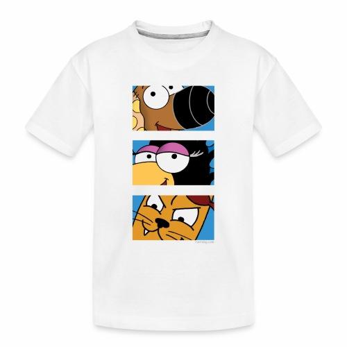 Rantdog Trio - Toddler Premium Organic T-Shirt