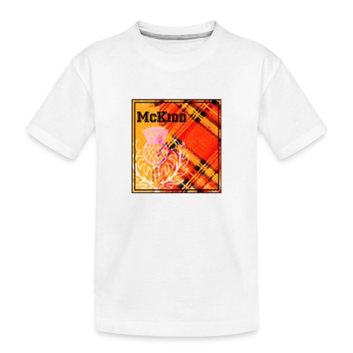 mckidd name - Toddler Premium Organic T-Shirt
