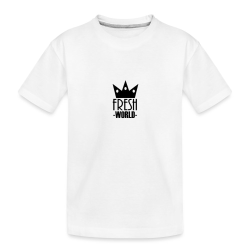 Fresh World - Toddler Premium Organic T-Shirt