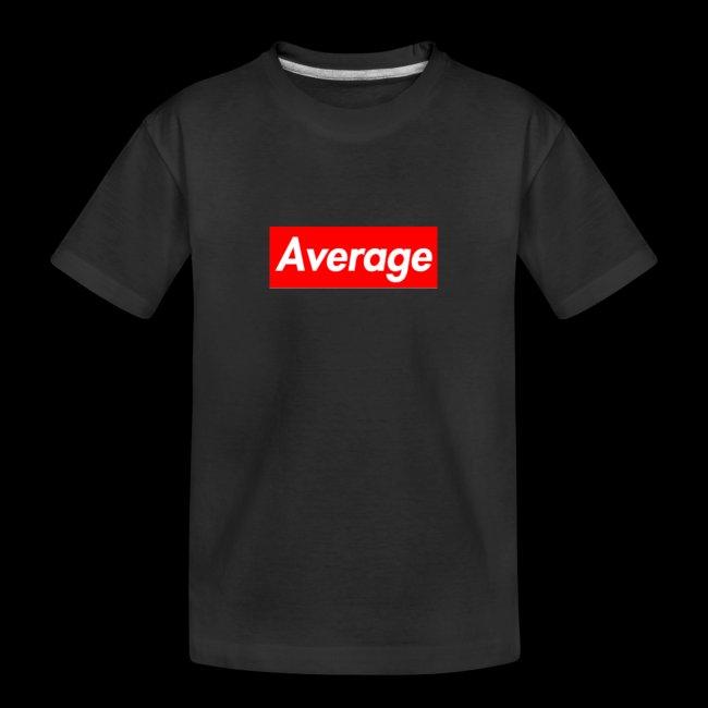 Average Supreme Logo Mockup