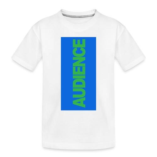 audiencegreen5 - Toddler Premium Organic T-Shirt