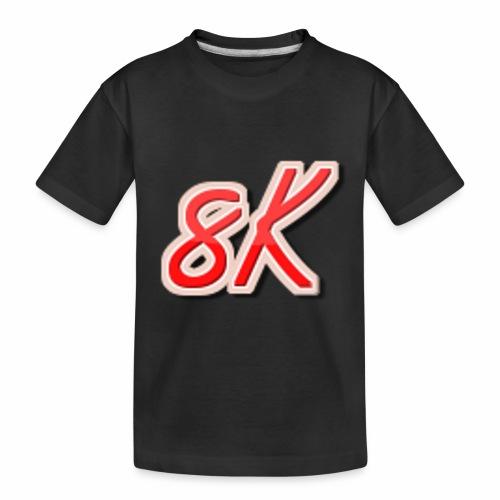 8K - Toddler Premium Organic T-Shirt
