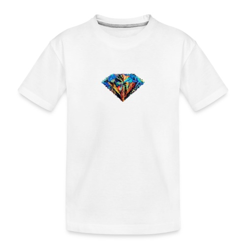Messy Diamond - Toddler Premium Organic T-Shirt