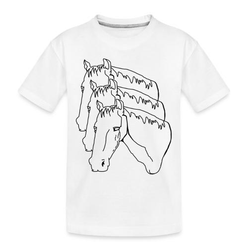 horsey pants - Toddler Premium Organic T-Shirt